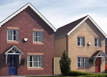 Thumbnail 3 bed semi-detached house for sale in Plot 21 (Po 14), Plot 26(Po 19) Dolydd Pentrosfa, Llandrindod Wells