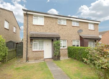 Thumbnail 1 bed terraced house for sale in Hazelbank Road, Chertsey, Surrey