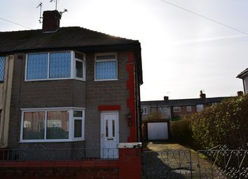 Thumbnail 3 bedroom end terrace house for sale in Burnside Avenue, Blackpool