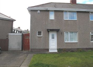 Thumbnail 2 bed semi-detached house to rent in Mayfield Avenue, Mayfield Glade, Cramlington