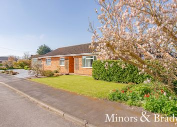 Thumbnail 3 bed detached bungalow for sale in Riverview Drive, Upton, Norwich