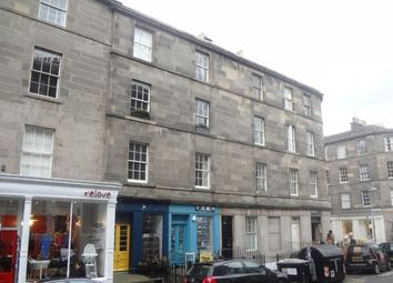 Thumbnail 3 bed flat to rent in St. Stephen Street, New Town, Edinburgh
