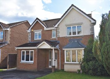 Thumbnail 4 bed detached house for sale in Ross Way, Livingston