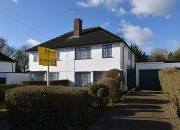 Thumbnail 3 bed semi-detached house for sale in Ludlow Way, Hampstead Garden Suburb