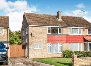 Thumbnail 3 bed semi-detached house for sale in Cotswold Close, Bedford, Bedfordshire