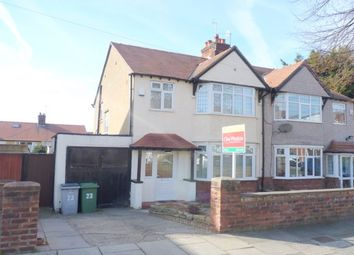 Thumbnail 3 bed property to rent in Evesham Road, Wallasey