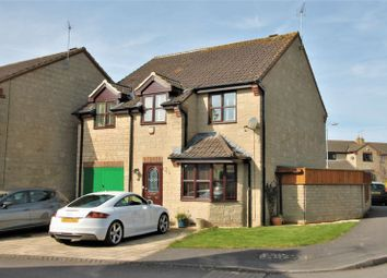 Thumbnail 4 bed detached house for sale in Home Ground, Cricklade, Wiltshire