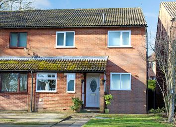 Thumbnail 3 bedroom semi-detached house for sale in Child Street, Lambourn, Hungerford