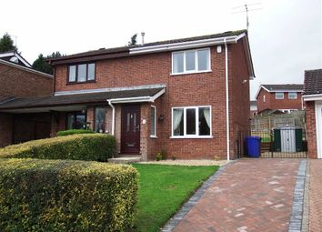 Thumbnail 2 bed semi-detached house to rent in Monsal Grove, Hanley, Stoke-On-Trent