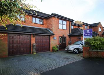Thumbnail 5 bed detached house for sale in Longshaw Common, Billinge, Wigan