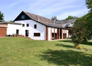 Thumbnail 6 bedroom detached house for sale in Efford, Shobrooke, Crediton, Devon