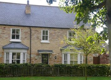 Thumbnail 4 bed terraced house to rent in Crescent Mews, Harmston, Lincoln