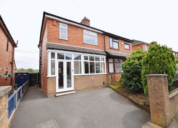Thumbnail 3 bed semi-detached house for sale in Station Grove, Milton, Stoke-On-Trent