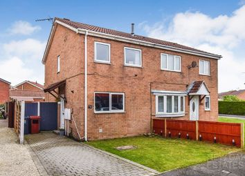 Thumbnail 2 bedroom semi-detached house for sale in Meadow View, Holmewood, Chesterfield