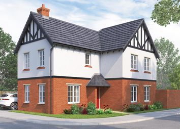 "Thumbnail 4 bed detached house for sale in ""The Hartlebury"" at Greenhill Road, Coalville"