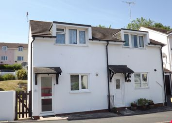 Thumbnail 2 bed semi-detached house to rent in Glebeland Way, Shiphay, Torquay, Devon