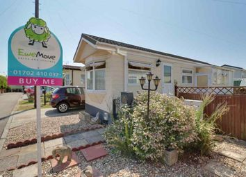 Thumbnail 1 bed mobile/park home for sale in Hockley Mobile Homes, Lower Road, Hockley