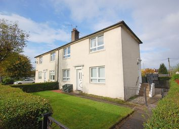 Thumbnail 1 bed flat for sale in Myrtle Road, West Dunbartonshire