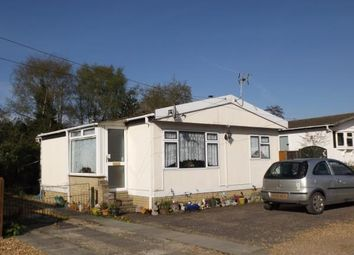 Thumbnail 1 bedroom mobile/park home for sale in Way Lane, Waterbeach, Cambridge