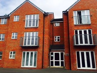 Thumbnail 2 bedroom flat to rent in Pendlebury Close, Bentley Road North, Walsall