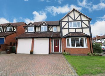 Thumbnail 5 bed detached house for sale in Richmond Close, Hollywood, Birmingham