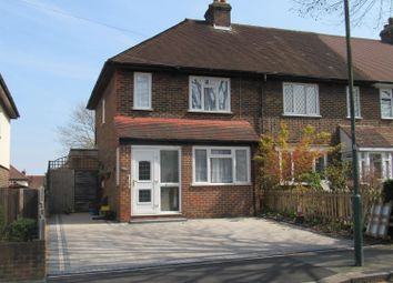 Thumbnail 3 bedroom end terrace house for sale in Stanley Road, Carshalton, Surrey