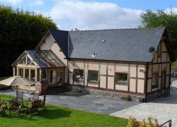 Thumbnail 4 bed barn conversion for sale in Oakwood, Cwmbelan, Llanidloes, Powys