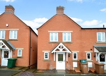 Thumbnail 3 bed terraced house for sale in Moray Close, Church Gresley, Swadlincote
