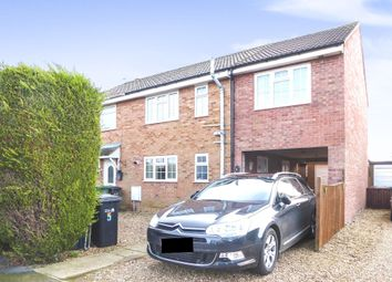 Thumbnail 4 bedroom semi-detached house for sale in Cameron Close, Heacham, King's Lynn