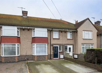 Thumbnail 3 bed terraced house for sale in King Edward Avenue, Broadwater, Worthing, West Sussex