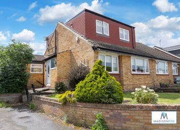 Thumbnail 4 bed semi-detached bungalow for sale in Knights Walk, Abridge, Romford