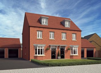 "Thumbnail 3 bed end terrace house for sale in ""Kennett"" at Rush Lane, Market Drayton"