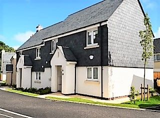 Thumbnail 2 bedroom semi-detached house for sale in Hockey Fields, Stoke Fleming, Dartmouth