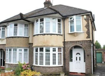 Thumbnail 3 bedroom semi-detached house to rent in Humberstone Road, Luton