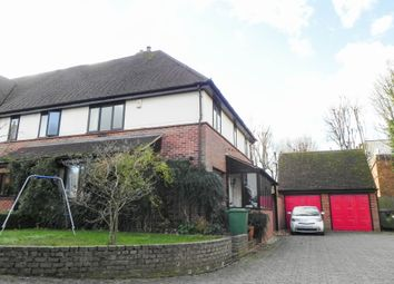 Thumbnail 3 bed semi-detached house to rent in Barley Court, Station Street, Saffron Walden