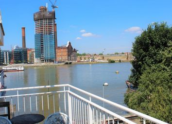 Thumbnail 2 bed flat to rent in Old Swan Wharf, Battersea Church Road