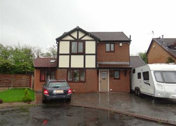 Thumbnail 3 bed detached house for sale in Leighton Drive, Leigh, Lancashire