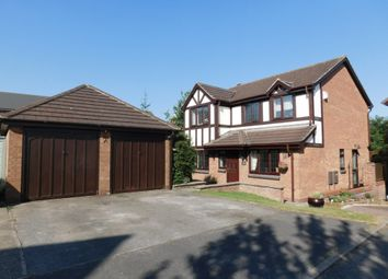 Thumbnail 4 bed detached house for sale in Beresford Dale, Church Gresley