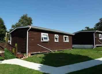 Thumbnail 3 bedroom bungalow for sale in Glan Gwna Holiday Park, Caeathro, Caernarfon, Gwynedd