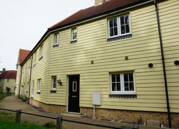 Thumbnail 3 bed terraced house for sale in River Bank Walk, Colchester