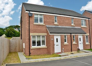 Thumbnail 3 bed semi-detached house for sale in Clos Y Coed Castan, Coity, Bridgend.