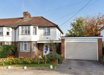 Thumbnail 3 bedroom semi-detached house for sale in Edward Road, Windlesham