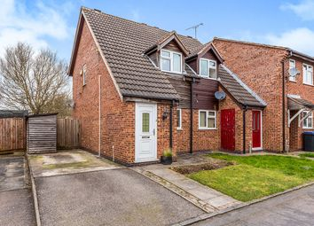 Thumbnail 2 bed semi-detached house for sale in Gosford Drive, Hinckley