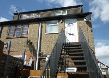 Thumbnail 1 bed maisonette to rent in Leicester Road, Luton, Beds