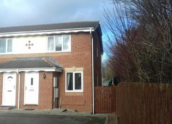 Thumbnail 2 bed end terrace house for sale in Clowbeck Court, High Grange, Darlington, Co Durham
