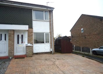 Thumbnail 2 bed semi-detached house to rent in Sanderling Road, Offerton, Stockport