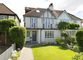 Thumbnail 3 bedroom semi-detached house for sale in Queens Drive, Thames Ditton