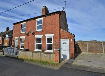 Thumbnail 2 bed semi-detached house for sale in Hill Road, Ingoldisthorpe, King's Lynn