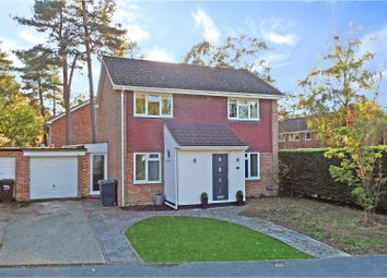 Thumbnail 3 bed detached house for sale in Pendragon Way, Camberley