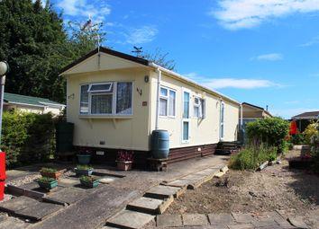 Thumbnail 2 bed mobile/park home for sale in Hillside Park, Limekiln Lane, Baldock